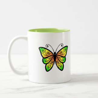 Always have a wonderful day  butterfly mug