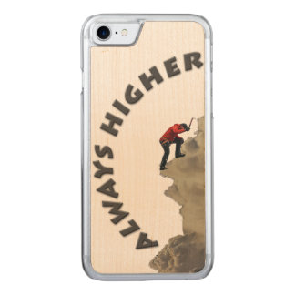 Always Higher! Gray Design Carved iPhone 8/7 Case