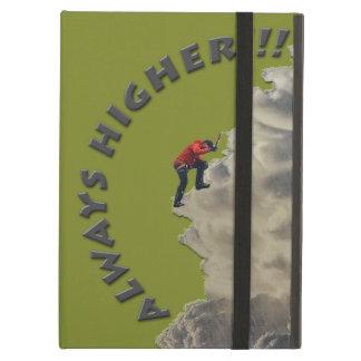 Always Higher! Gray Design iPad Air Case