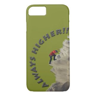 Always Higher! Gray Design iPhone 8/7 Case