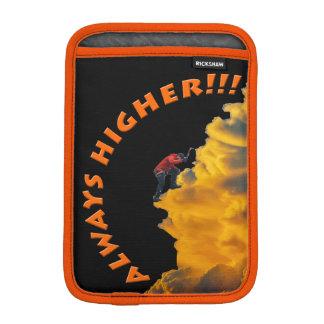 Always Higher Inspirational Design iPad Mini Sleeves
