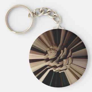 Always in motion keychain