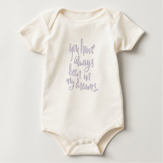 Always in my Dreams Baby Clothes Baby Bodysuit