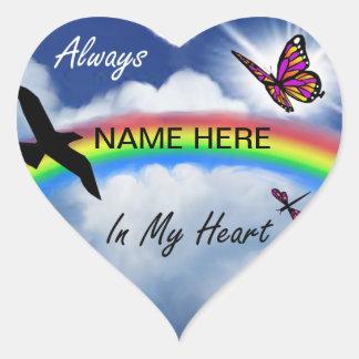 Always In My Heart Heart Sticker