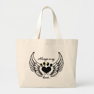 Always in My Heart... Large Tote Bag