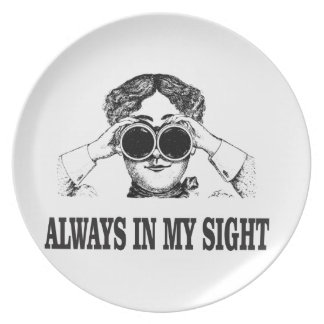 always in my sight plate