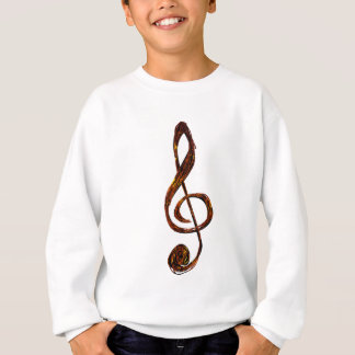 Always In Treble - Treble Clef apparel Sweatshirt