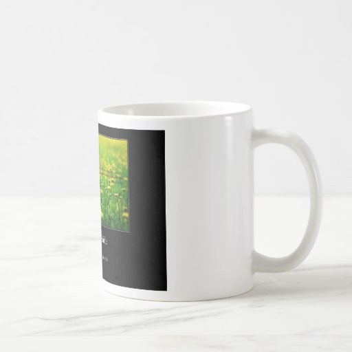Always look on the bright side of life, insurance. coffee mug
