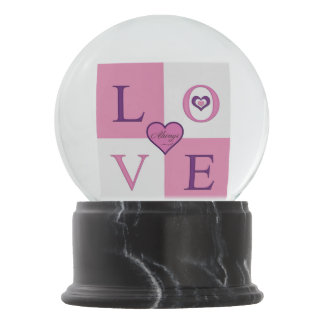 Always Love Snow Globes