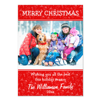 Always Merry Christmas Magnetic Invitations