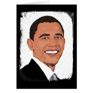 Always My President Barack Obama Blank Card