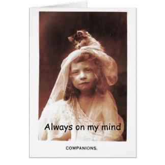 Always on my Mind Card