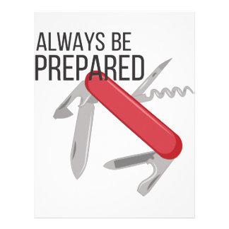 Always Prepared Letterhead