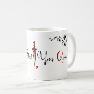 Always Protect Your Queen Coffee Mug: Art Edition Coffee Mug