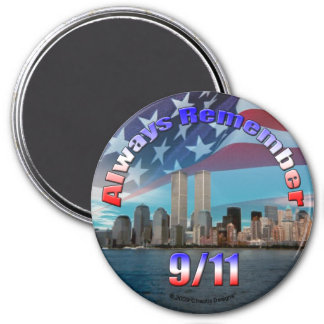 Always Remember 9/11 Magnet