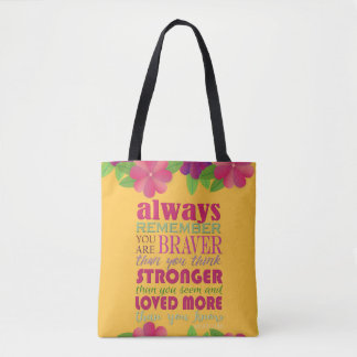 Always Remember You Are - TOTE-Handbag Tote Bag