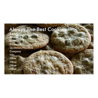 Always The Best Cookies Pack Of Standard Business Cards