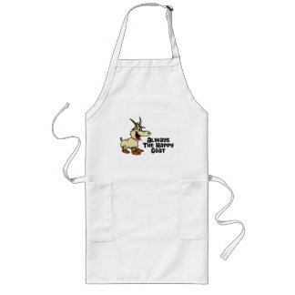 Always The Happy Goat Long Apron