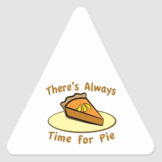 Always Time for Pie Stickers