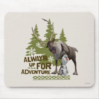 Always up for Adventure Mouse Pad