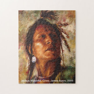 Always Watchful, American Indian puzzle