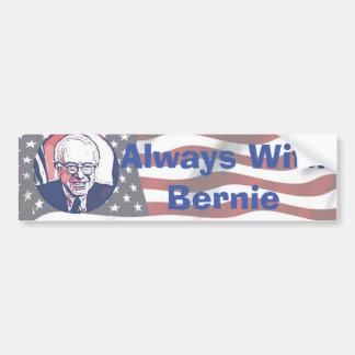 Always with Bernie Back Bumper Sticker