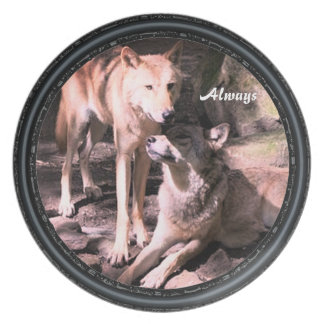Always Wolf Collection Plate
