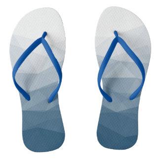 Alwesome blue vectors sea flip flops