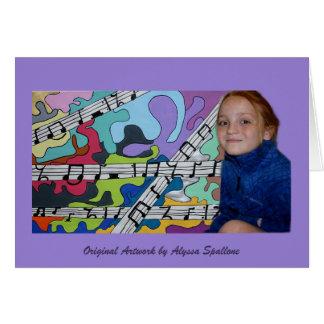 Alyssa Artwork Card