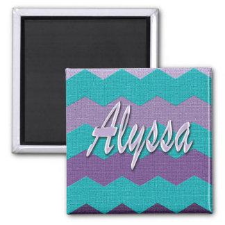 Alyssa Chevron Magnet