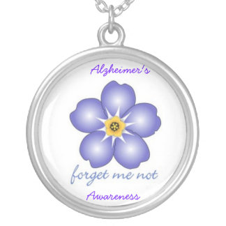 Alzheimer's Awareness Necklace