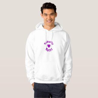 Alzheimers Awareness Purple Ribbon Memories Love Hoodie