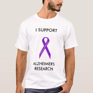 Alzheimer's Awareness Ribbon T-shirt