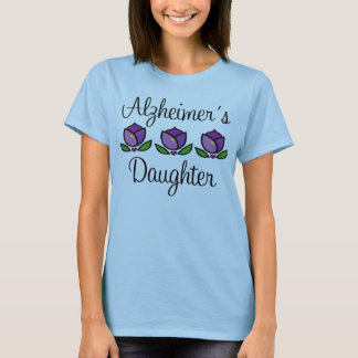 Alzheimer's Daughter Womens Tee