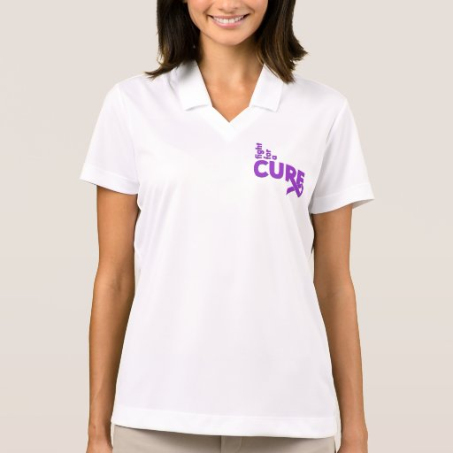 Alzheimers Disease Fight For A Cure Polo T-shirts
