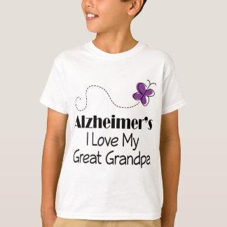 Alzheimers I Love My Great Grandpa T-Shirt