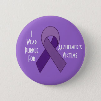 Alzheimer's victims purple pin