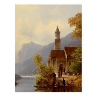 Am Heimweg von der Sonntagsmesse.jpg Postcard