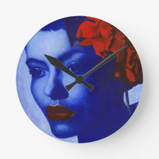 Am I Blue Wall Clock