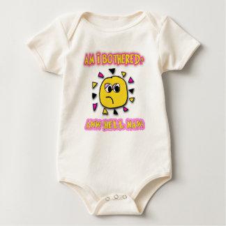 Am i bothered aww hell naw baby bodysuit