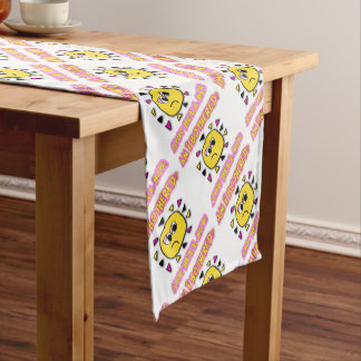 Am i bothered aww hell naw short table runner