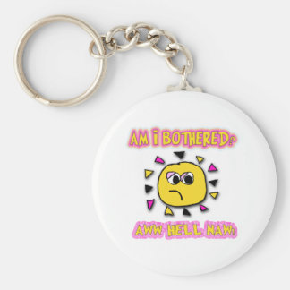 AM I BOTHERED KEYCHAIN
