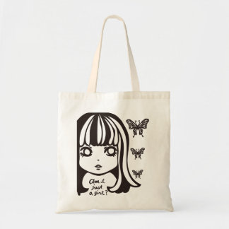 Am I just a girl? Tote Bag