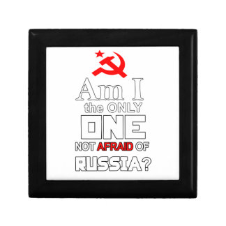 Am I the Only One Not Afraid of Russia? Gift Box
