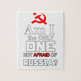 Am I the Only One Not Afraid of Russia? Jigsaw Puzzle