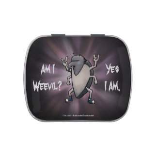 Am I Weevil Funny Cartoon Candy Tin
