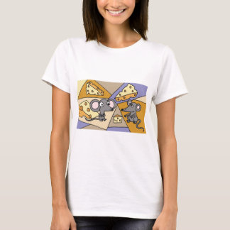 AM- Mice and Cheese Art T-Shirt