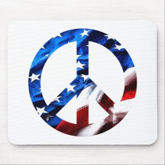 am peace mouse pad