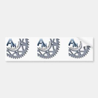 AM Square Sticker