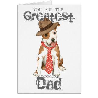 Am Staff Dad Card